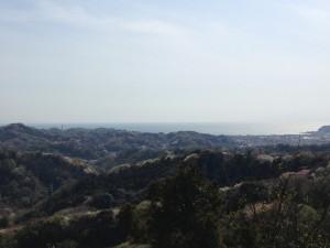 大平山山頂から見える景色です